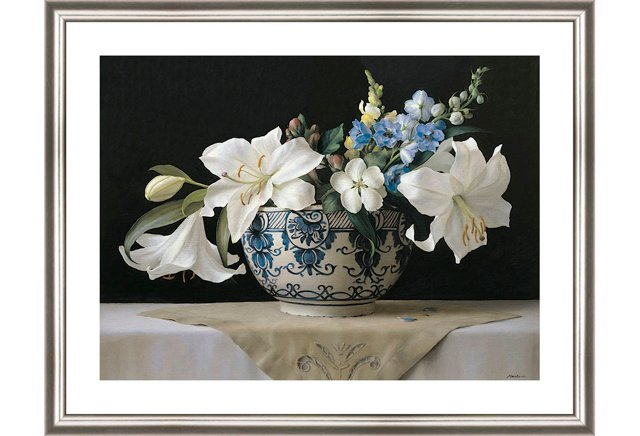 DNU Ken Marlow, Lilies in Delft