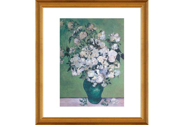 Vincent van Gogh, Vase of Roses,1890