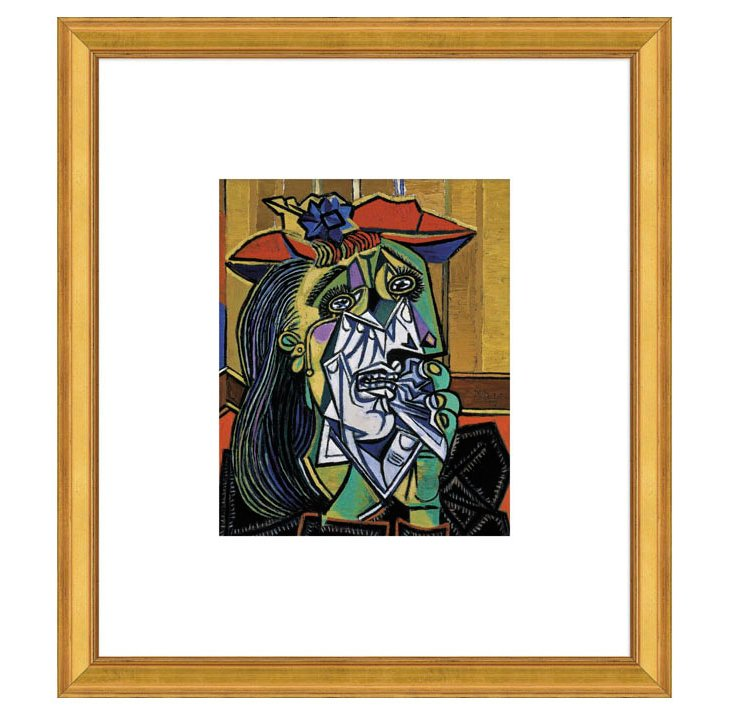 Picasso, Weeping Woman, 1937