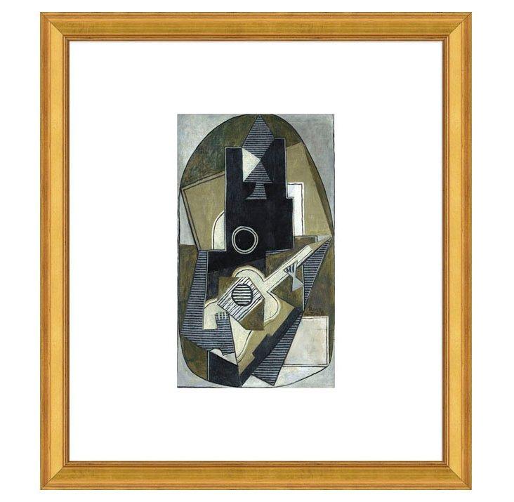 Picasso, L'Homme a la Guitare, 1918