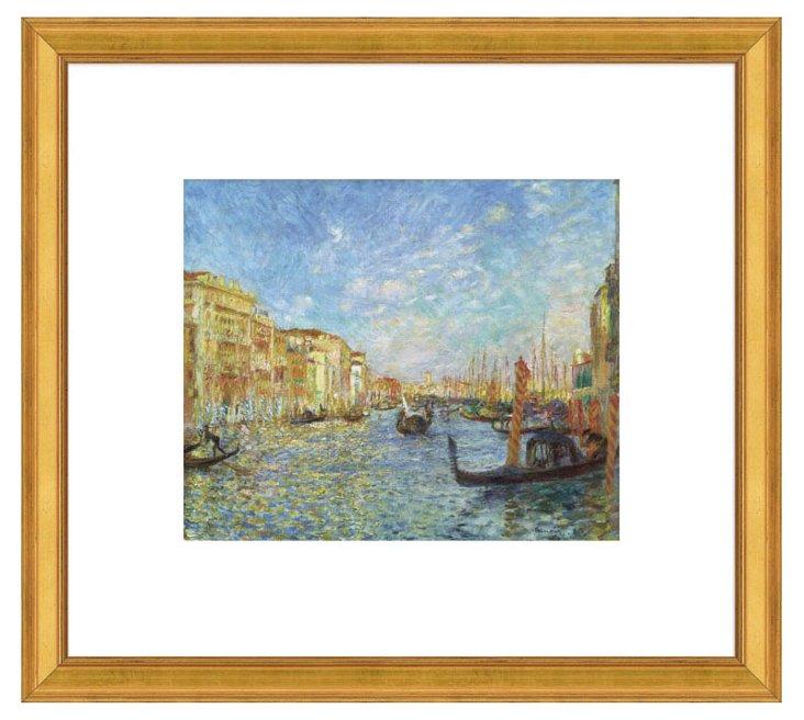 Renoir, Grand Canal, Venice, 1881