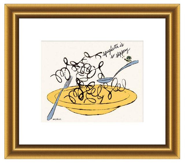Andy Warhol, Spaghetti is So Slippery