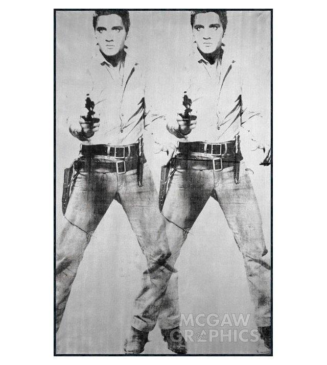 Andy Warhol, Double Elvis, 1963