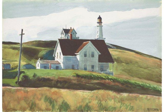 Edward Hopper, Cape Elizabeth, ME, 1927