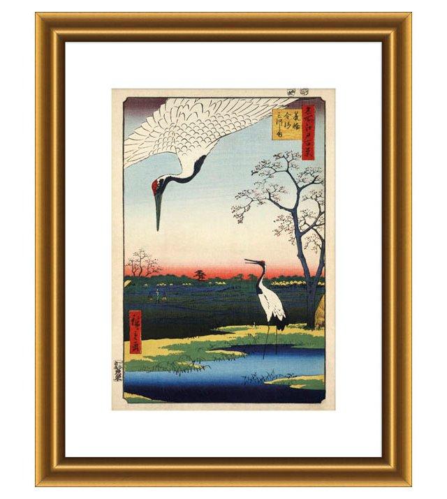 Ando Hiroshige, Minowa, Kanasugi