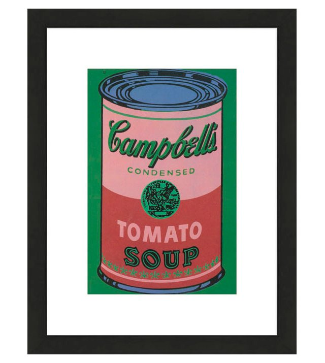 Warhol, Red Campbell's, 1965