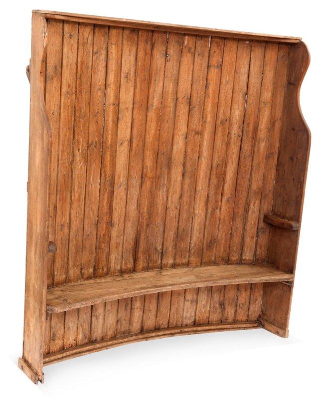 Oak Porter Bench