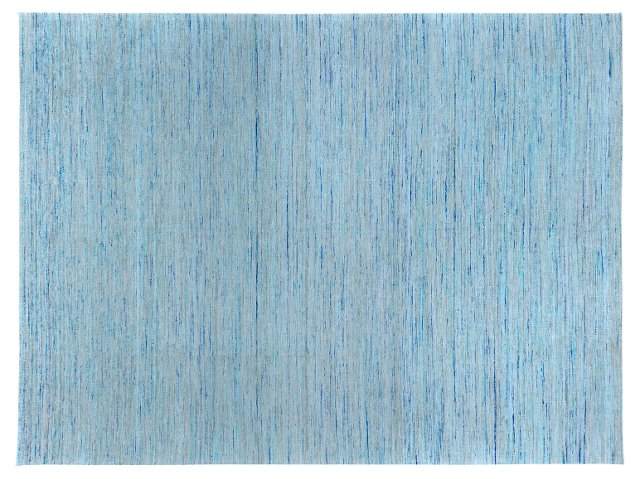 Ansel Flat-Weave Rug, Blue