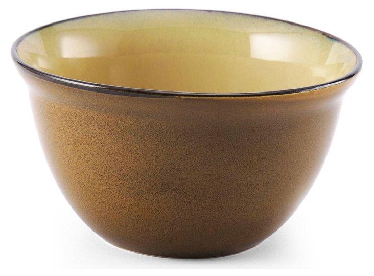 S/6 Soup Bowls, Gold
