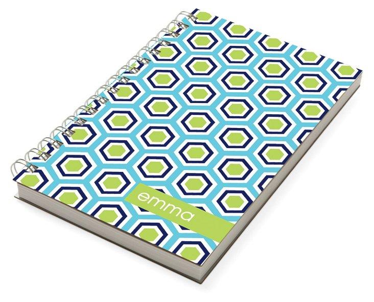 Custom Hex Chunky Notebook, Green