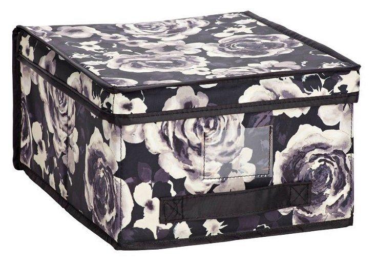 Medium Storage Box, Floral