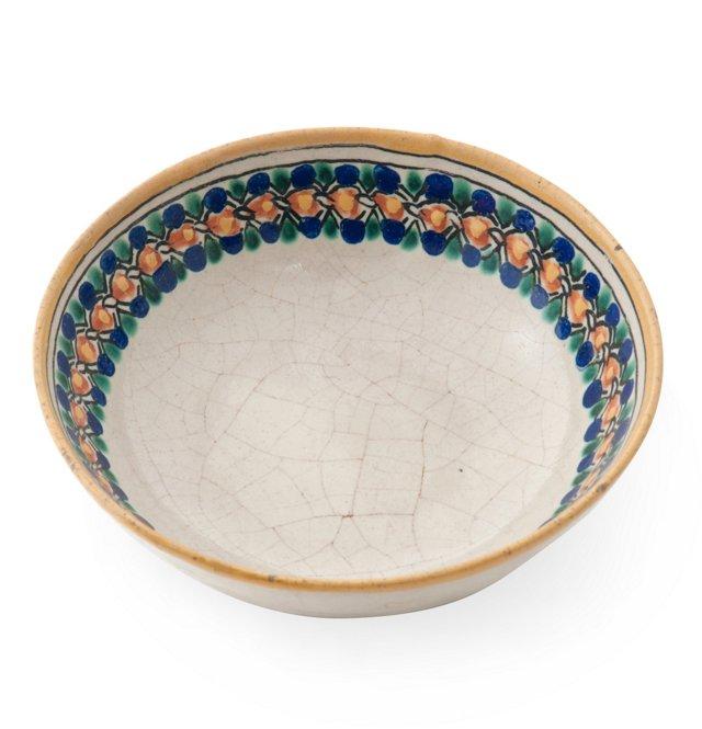 1920s Mexican Talavera Bowl