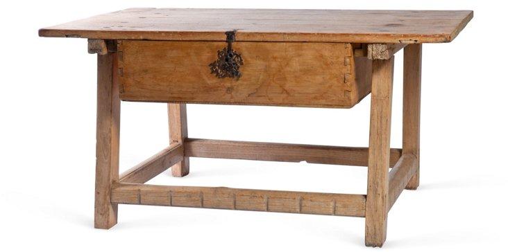 Mexican Sabino Wood Hacienda Table