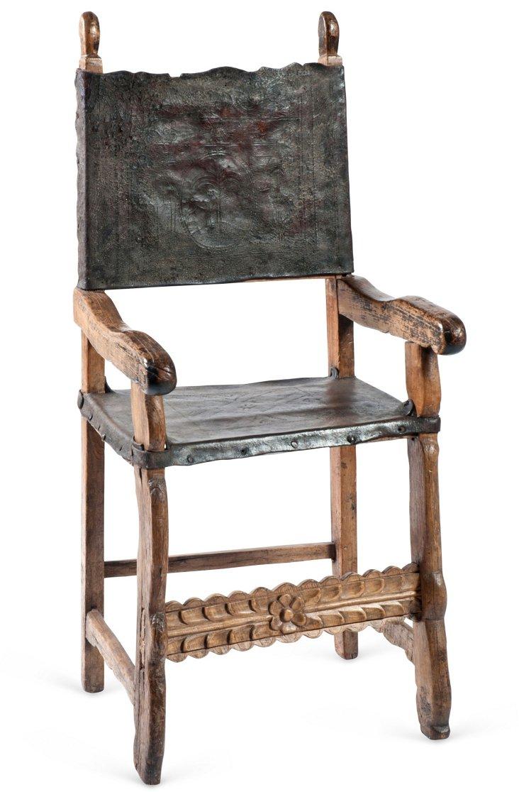 Colonial Friar's Chair