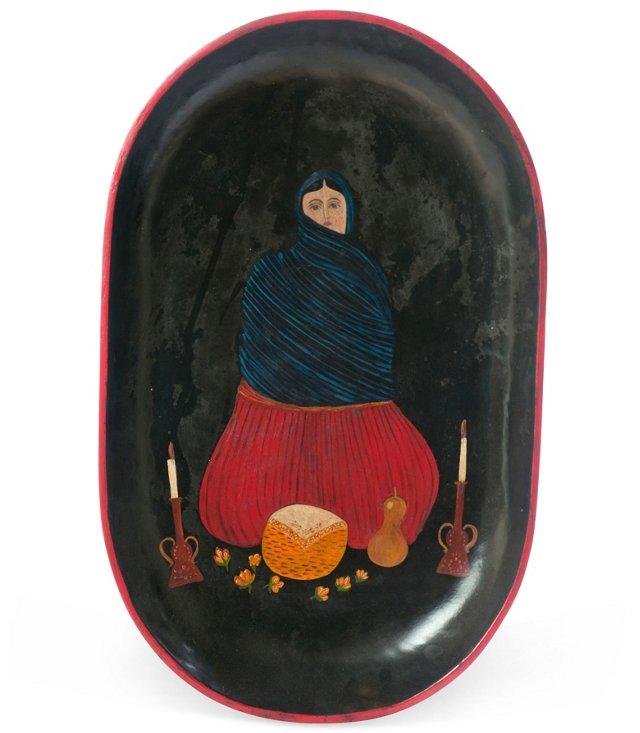 Vintage Mexican Batea I