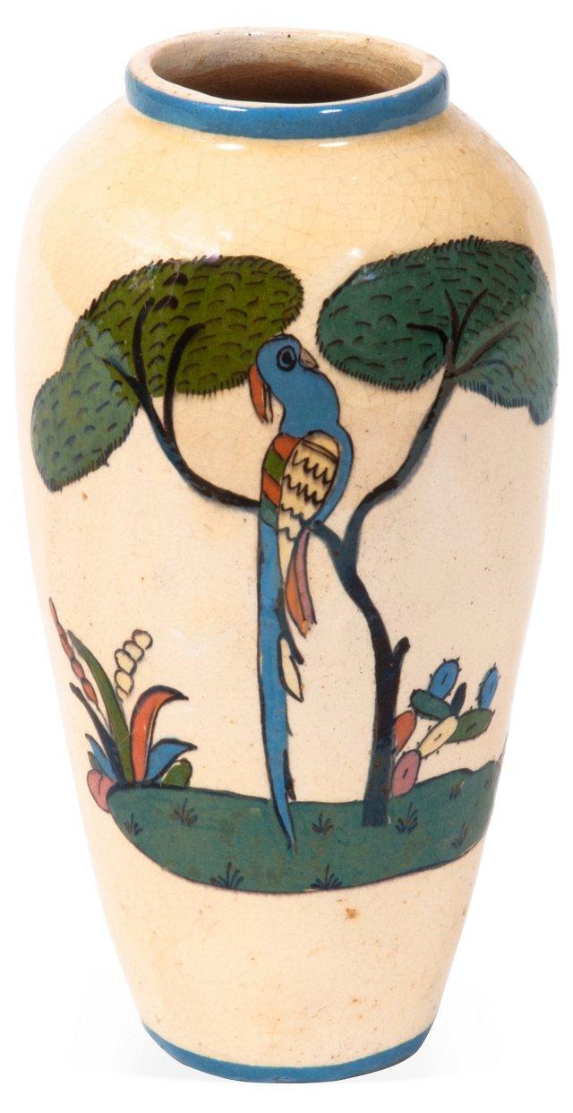 Vintage Mexican Tlaquepaque Vase