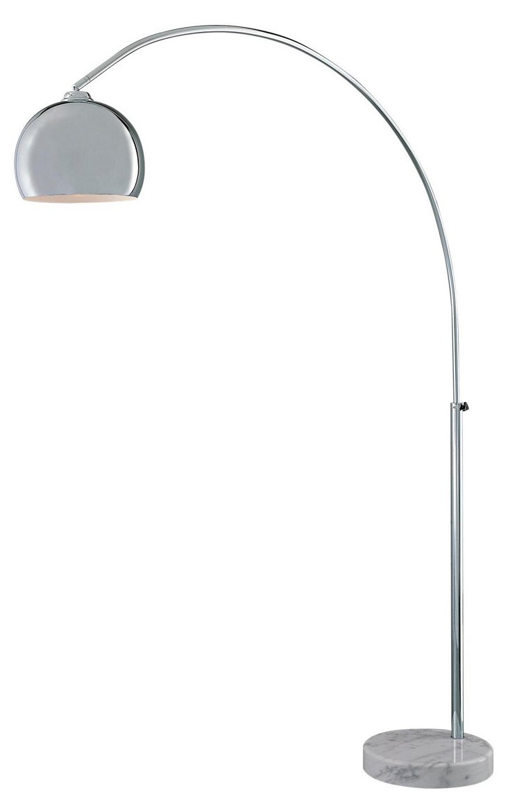 1-Light Arc Floor Lamp, DNU