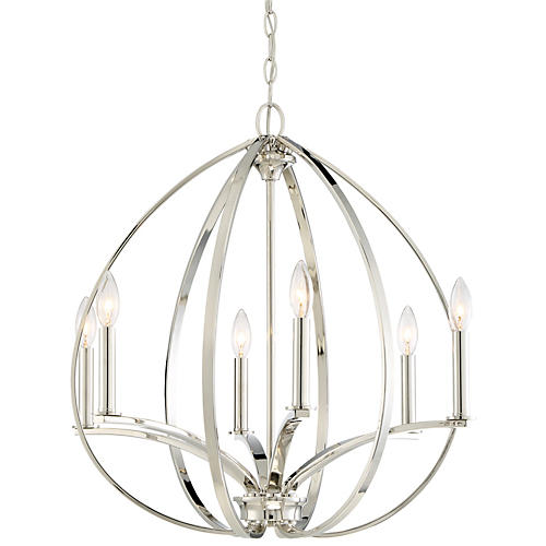 Tilbury 6-Light Pendant