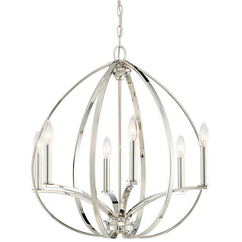 Tilbury 6-Light Pendant