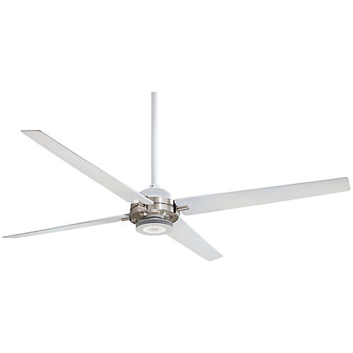 Aire Spectre Ceiling Fan Light Fixture, White