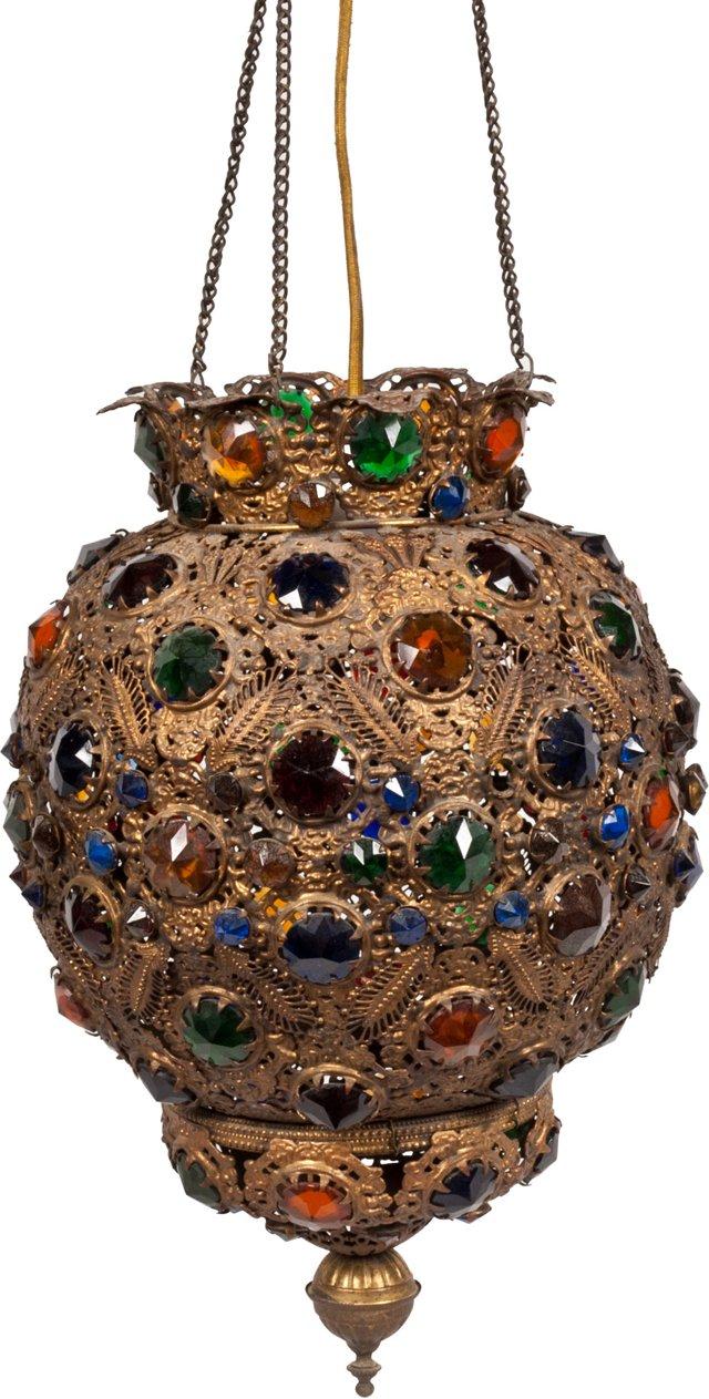 1920s Moorish Lantern