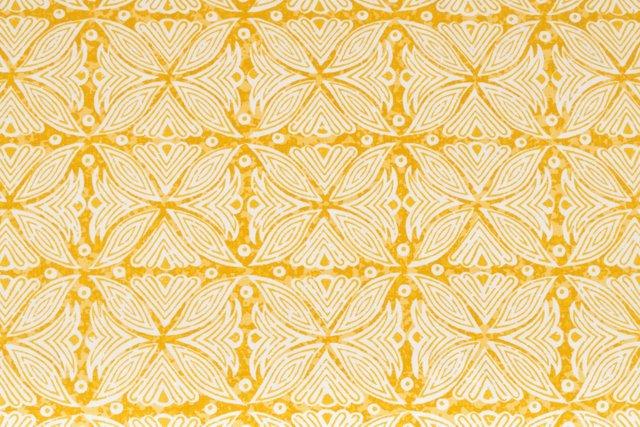 MLB Kabba Kabba Fabric, Yellow, 5 Yds.