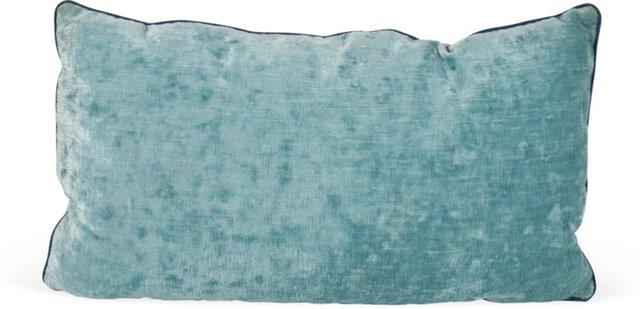 MLB Blue Linen Velvet Pillow