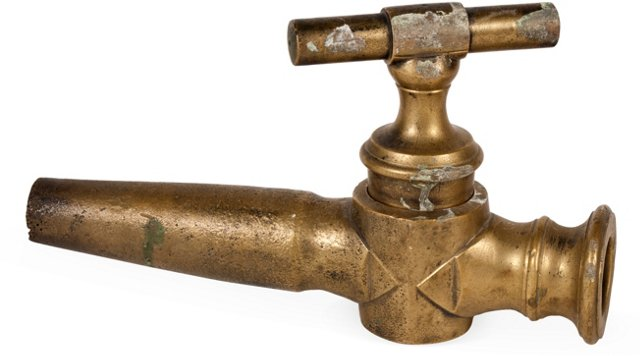 French Bronze Fountain Faucet