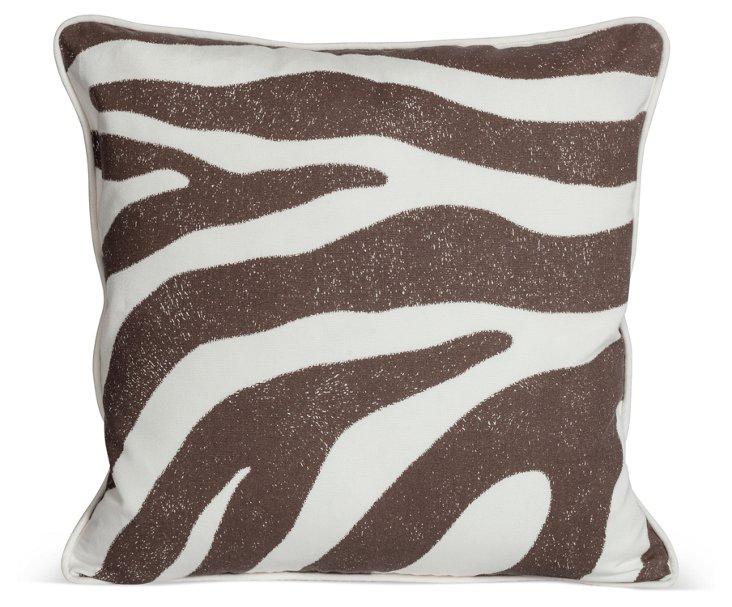 MLB Zanzibar Outdoor Pillow, Brown