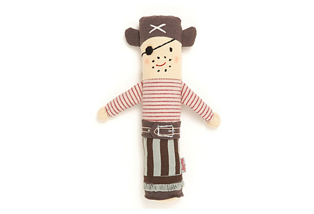 Pirate Baby Rattle