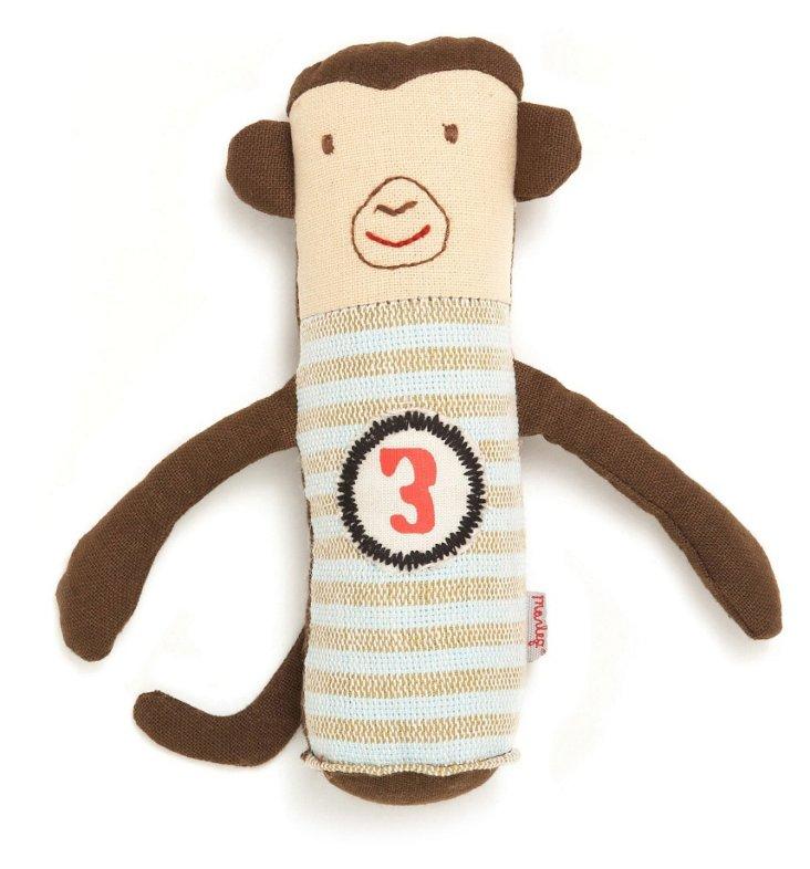 Monkey Baby Rattle