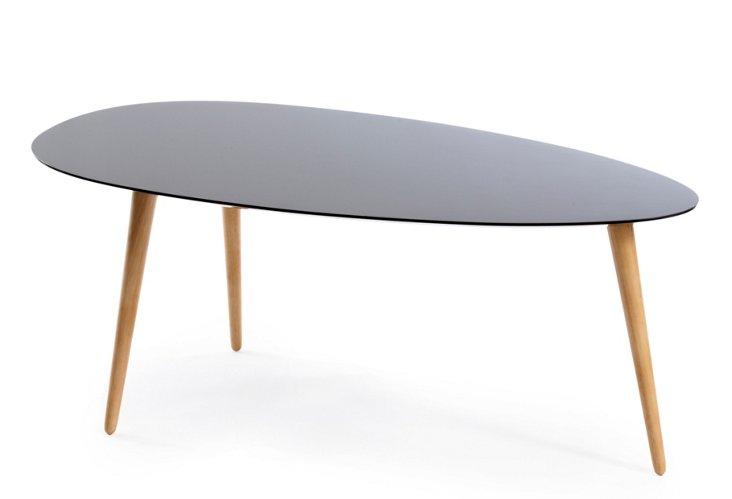 Large Egg Table, Black