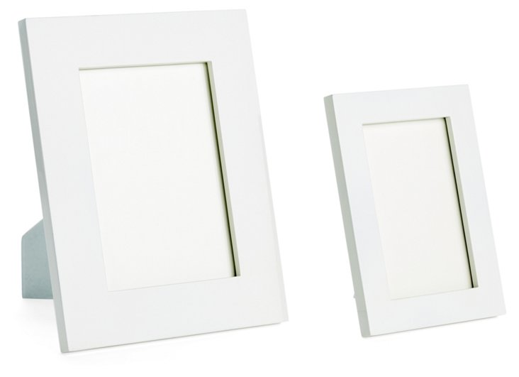 Asst. of 2 Essential Frames, White