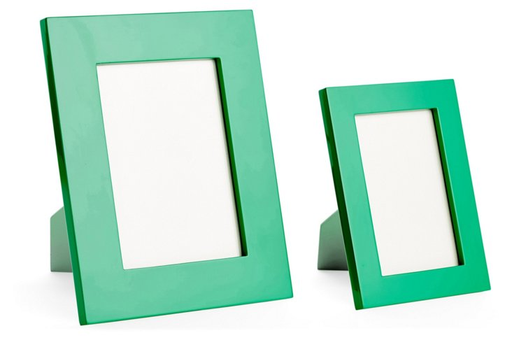Asst. of 2 Essential Frames, Green
