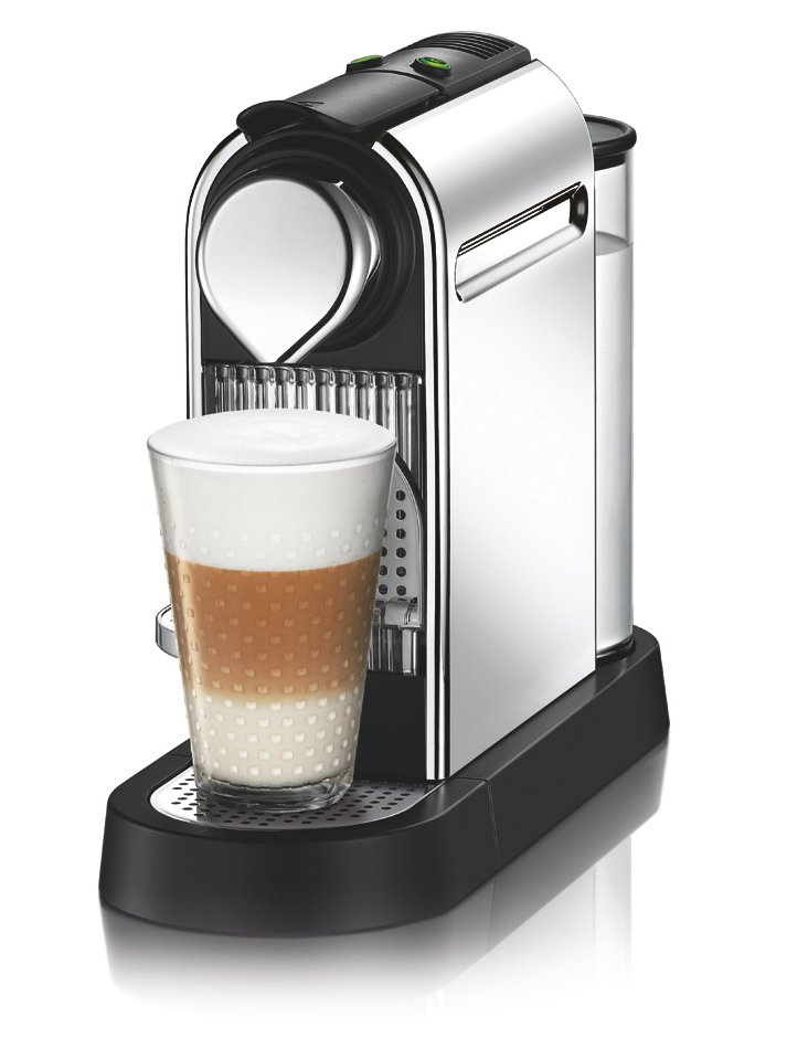 Citiz Espresso Maker, Chrome