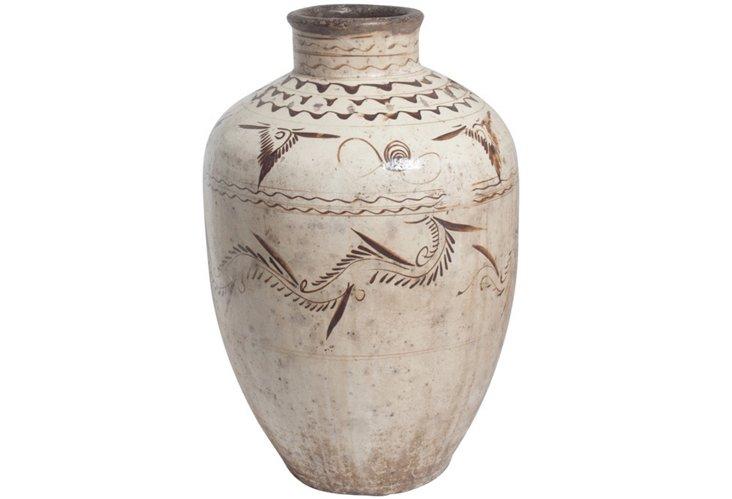 Antique Chinese Ceramic Jar