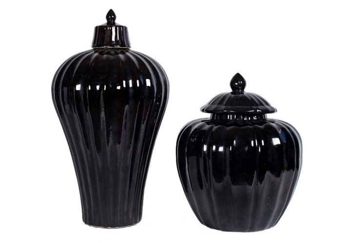 Statement Vases, Set of 2