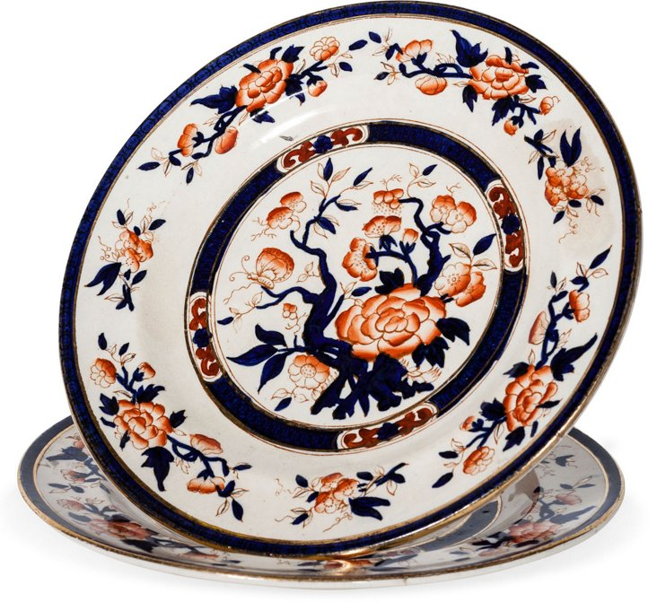 Joel Chen Plates, Pair