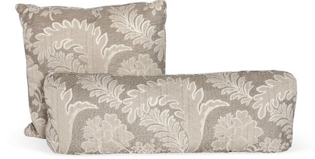 Silver Pillows, Set of 2