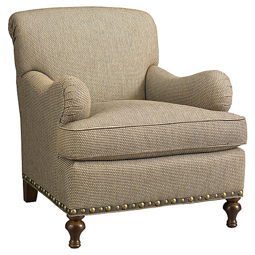 Bridgewater Club Chair, Beige