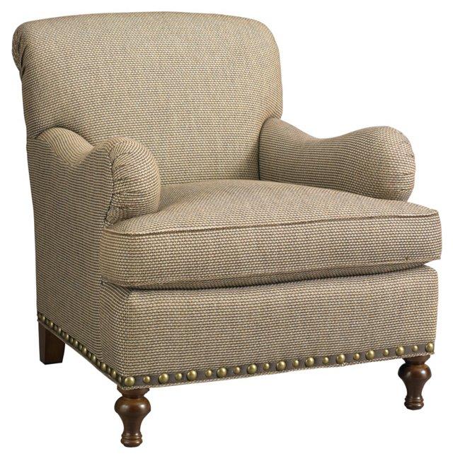 Bridgewater Club Chair, Beige