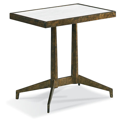 Giorgio Spot Side Table, Bronze