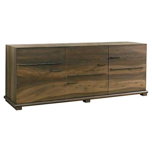 Wright Sideboard, Natural/Black
