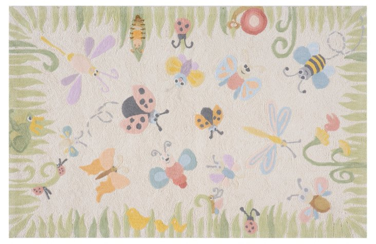 Garden Friends Rug, Multi