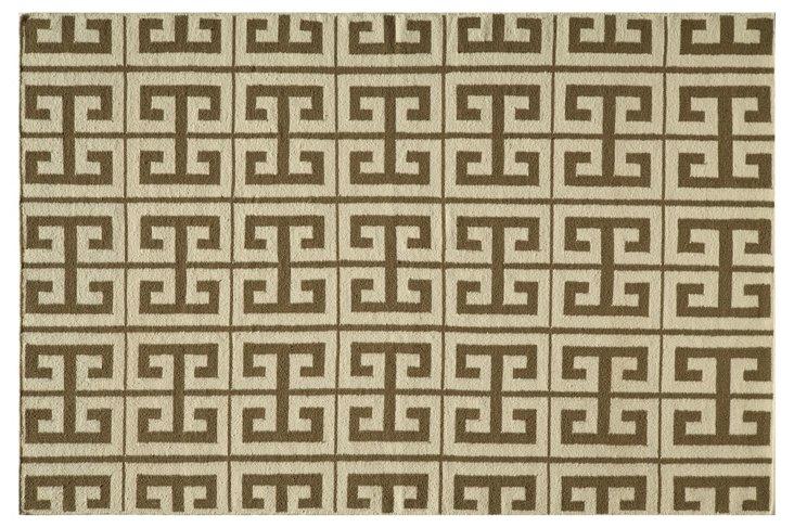 Donna Flat-Weave Rug, Oregano