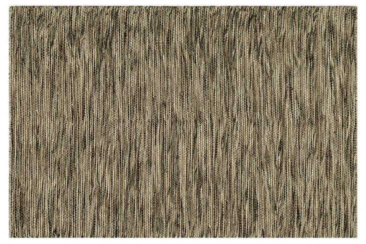 Elisa Flat-Weave Rug, Natural