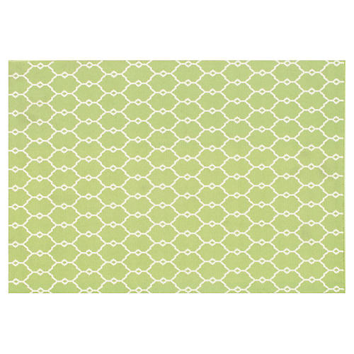 Crete Outdoor Rug, Green