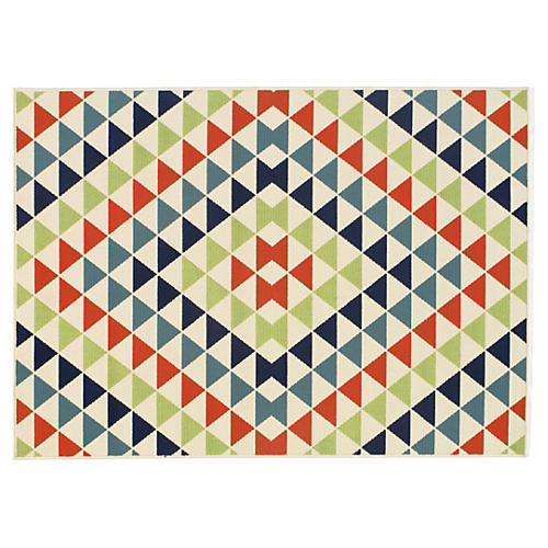 Sarti Outdoor Rug, Multi