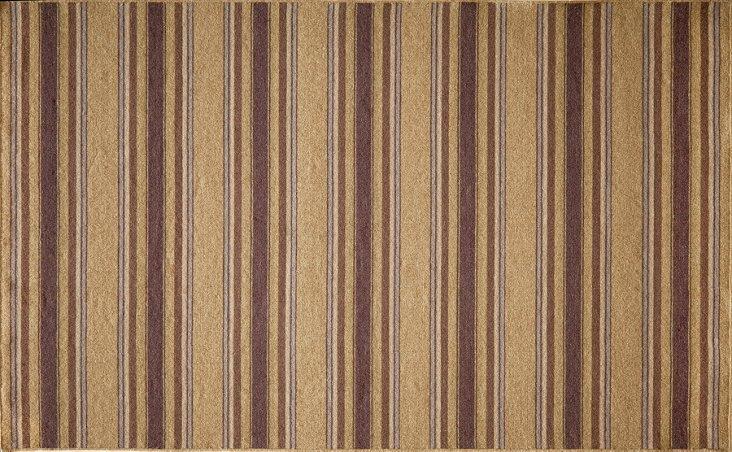 Connie Flat-Weave Rug, Plum