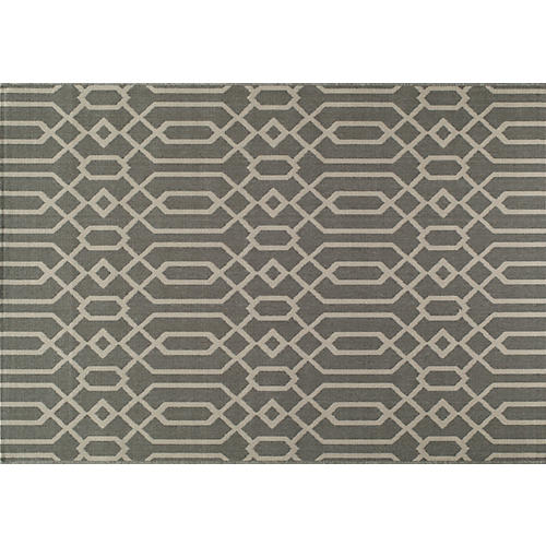 Simos Outdoor Rug, Gray